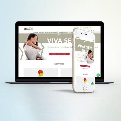 Marketing Médico Digital - Site Clínica