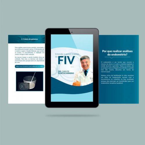 Marketing Médico Digital - Ebook de fertilização