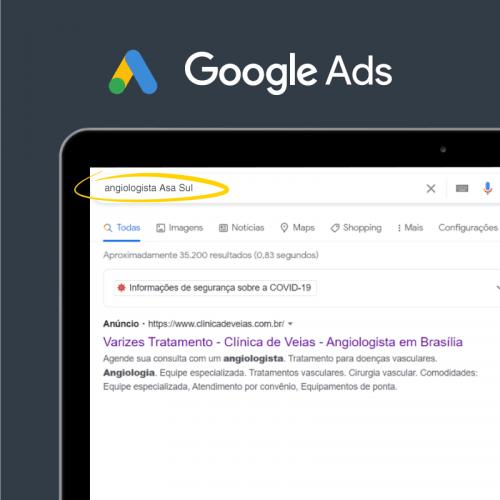 Marketing Médico Digital - Anúncio Google